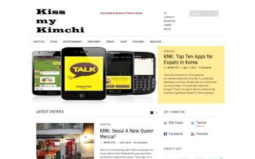 Access kissmykimchi.com using Hola Unblocker web proxy