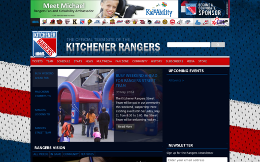 Access kitchenerrangers.com using Hola Unblocker web proxy