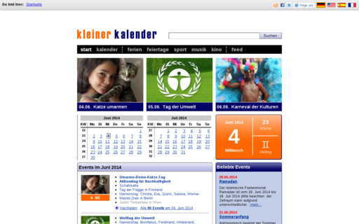Access kleiner-kalender.de using Hola Unblocker web proxy
