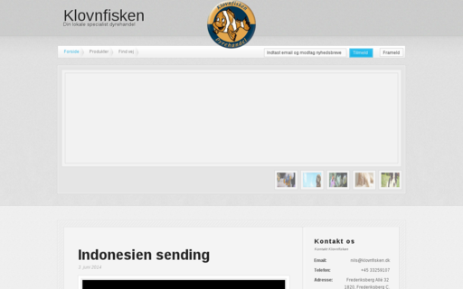 Access klovnfisken.dk using Hola Unblocker web proxy