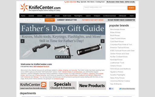 Access knifecenter.com using Hola Unblocker web proxy