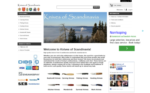 Access knivesofscandinavia.com using Hola Unblocker web proxy