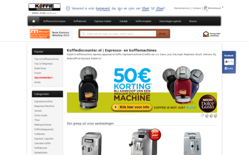 Access koffiediscounter.nl using Hola Unblocker web proxy