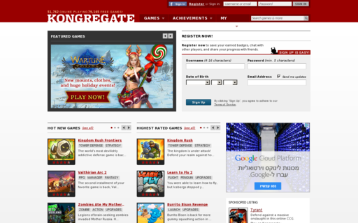 Access kongregate.com using Hola Unblocker web proxy