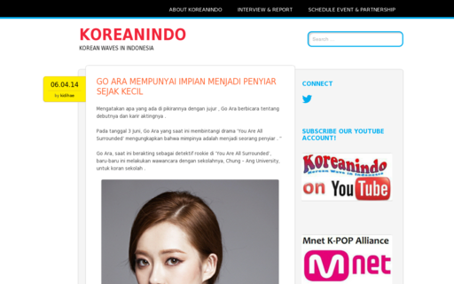 Access koreanindo.net using Hola Unblocker web proxy