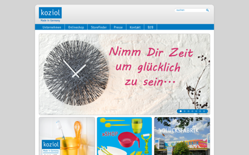 Access koziol.de using Hola Unblocker web proxy