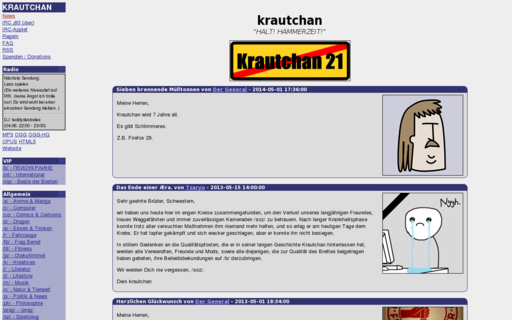 Access krautchan.net using Hola Unblocker web proxy