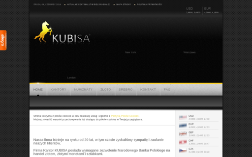 Access kubisa.pl using Hola Unblocker web proxy