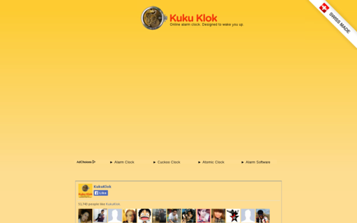 Access kukuklok.com using Hola Unblocker web proxy