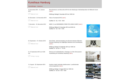 Access kunsthaushamburg.de using Hola Unblocker web proxy