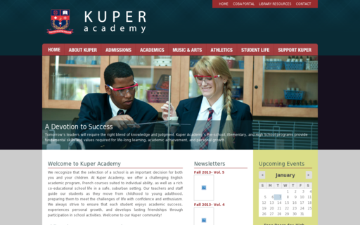 Access kuperacademy.ca using Hola Unblocker web proxy