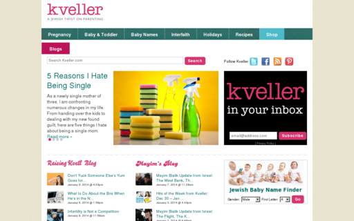 Access kveller.com using Hola Unblocker web proxy