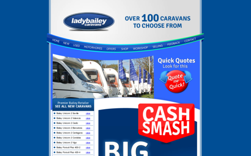 Access ladybaileycaravans.co.uk using Hola Unblocker web proxy
