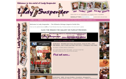 Access ladysuspender.co.uk using Hola Unblocker web proxy