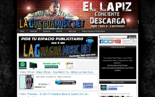 Access laguaguamusic.net using Hola Unblocker web proxy