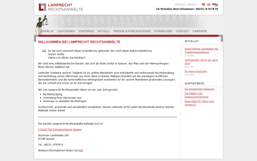 Access lamprecht-rechtsanwaelte.de using Hola Unblocker web proxy