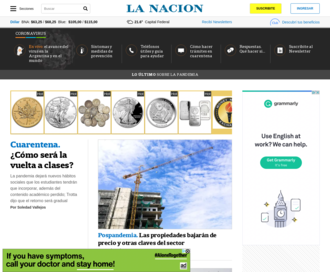 Access lanacion.com.ar using Hola Unblocker web proxy