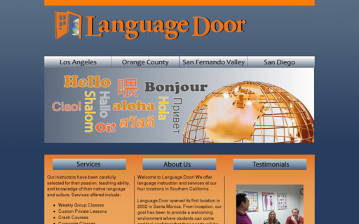 Access languagedoor.com using Hola Unblocker web proxy