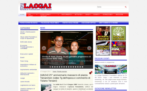 Access laogai.it using Hola Unblocker web proxy