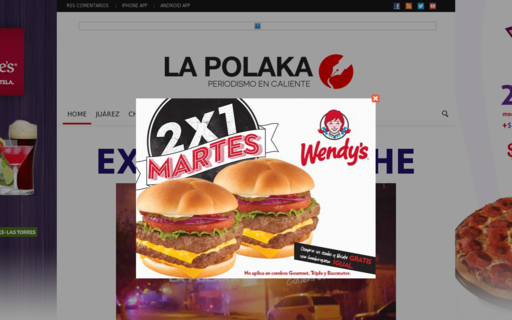 Access lapolaka.com using Hola Unblocker web proxy