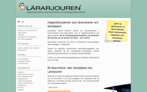 Access lararjouren.se using Hola Unblocker web proxy