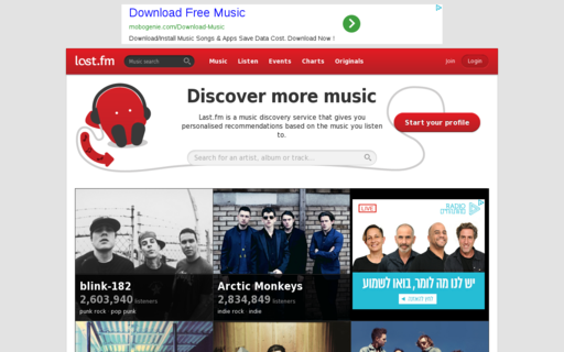 Access last.fm using Hola Unblocker web proxy
