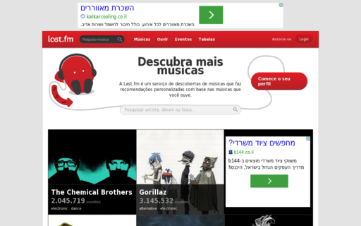 Access lastfm.com.br using Hola Unblocker web proxy