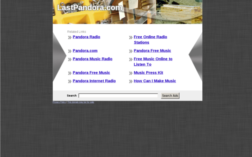 Access lastpandora.com using Hola Unblocker web proxy