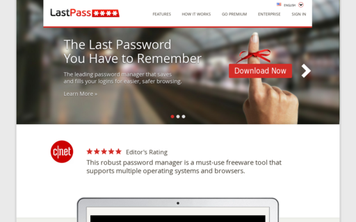 Access lastpass.com using Hola Unblocker web proxy