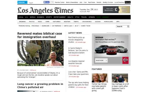 Access latimes.com using Hola Unblocker web proxy