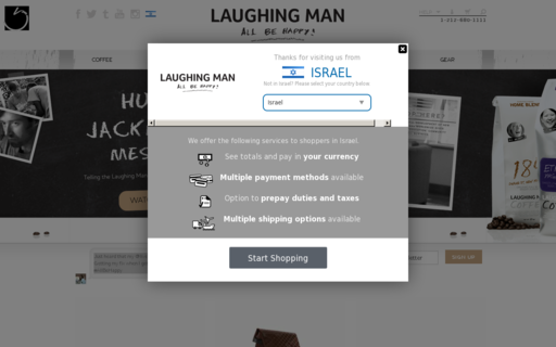 Access laughingmancheckout.com using Hola Unblocker web proxy