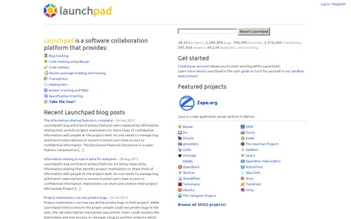 Access launchpad.net using Hola Unblocker web proxy