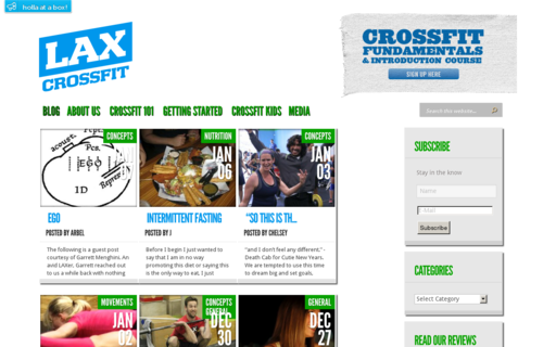 Access laxcrossfit.com using Hola Unblocker web proxy