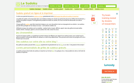 Access le-sudoku.fr using Hola Unblocker web proxy