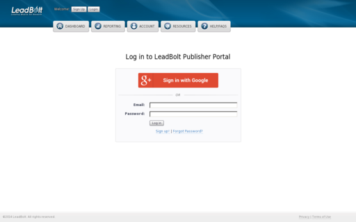 Access leadboltnetwork.net using Hola Unblocker web proxy