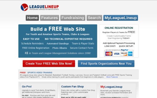 Access leaguelineup.com using Hola Unblocker web proxy