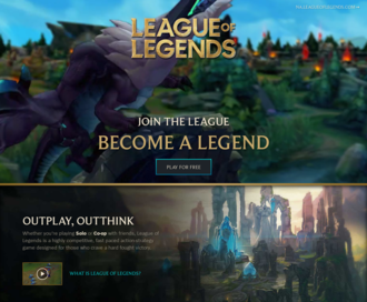 Access leagueoflegends.com using Hola Unblocker web proxy