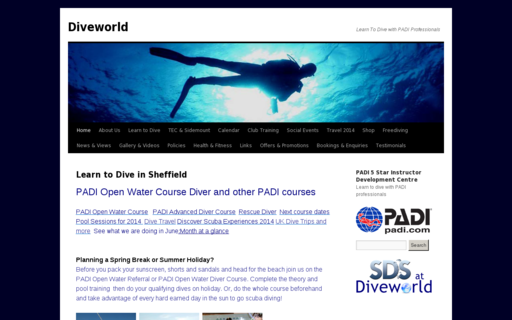 Access learn2dive.co.uk using Hola Unblocker web proxy
