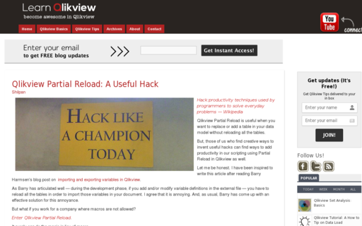 Access learnqlickview.com using Hola Unblocker web proxy