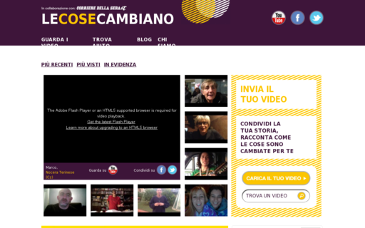 Access lecosecambiano.org using Hola Unblocker web proxy