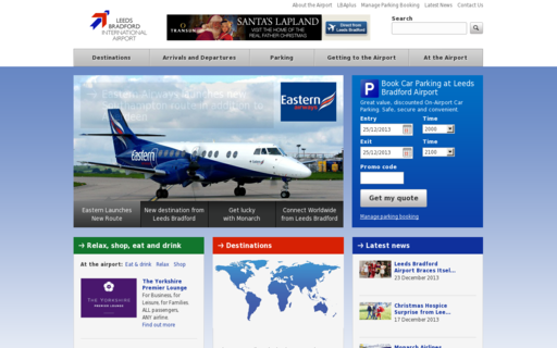 Access leedsbradfordairport.co.uk using Hola Unblocker web proxy
