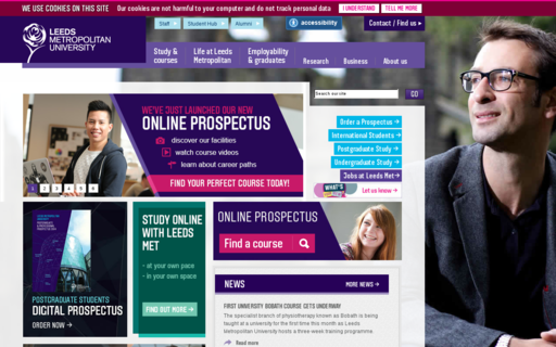 Access leedsmet.ac.uk using Hola Unblocker web proxy