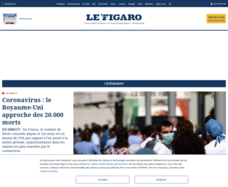 Access lefigaro.fr using Hola Unblocker web proxy