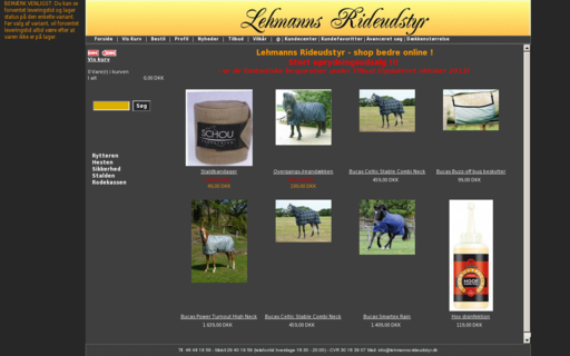 Access lehmanns-rideudstyr.dk using Hola Unblocker web proxy