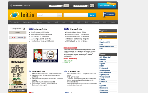 Access leit.is using Hola Unblocker web proxy