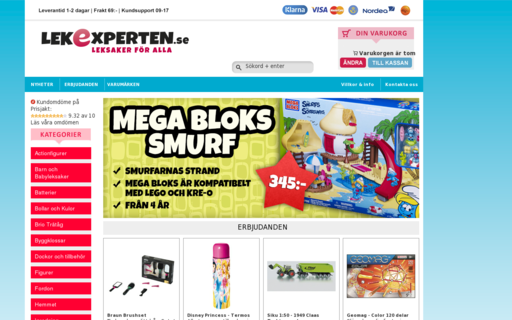 Access lekexperten.se using Hola Unblocker web proxy
