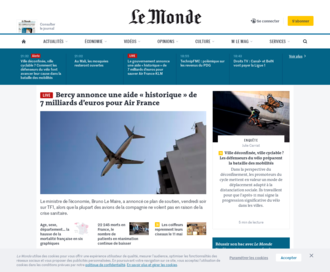 Access lemonde.fr using Hola Unblocker web proxy