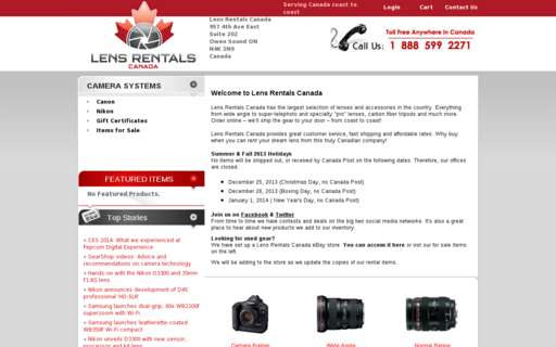 Access lensrentalscanada.com using Hola Unblocker web proxy