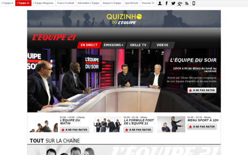 Access lequipe21.fr using Hola Unblocker web proxy