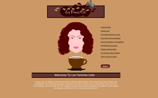Access lesfemmescafe.com using Hola Unblocker web proxy